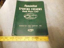 Remington 1971 parts price list - Sectional View - Gun Smith
