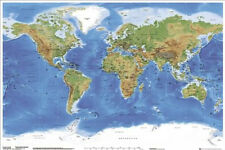 *NEW* Educational Children World Map - Chart Wall Poster 61x 91.5cm