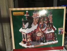 Lemax The Claus Cottage House LED Lighted Holiday Village