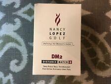 NANCY LOPEZ - BOX of 6 UNUSED - NEW - DM2 GOLF BALLS
