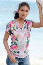 Waist Length Semi Fitted Floral Tops & Shirts NEXT for Women