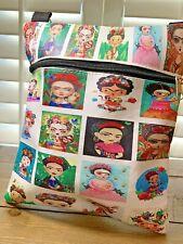 New Frida Kahlo Shoulder Bag, Crossbody Bag Mexican Artist Shoulder Bag Purse