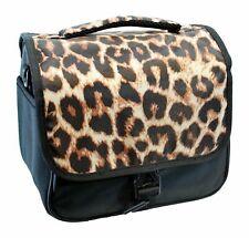 Camera Bag with Shoulder Strap for DSLR Camera & Extra Lenses Leopard beautiful