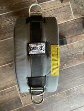 New listing Norberts Gymnastic Spotting Belts Acrobatics Belt Training Gray size Large