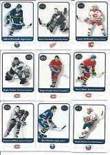 2001 NHL FLEER Hockey complete your Set U-pick 20 card LOT