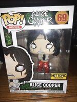 Funko POP! Rocks ALICE COOPER (Strait Jacket) #69 Vinyl Figure - EXCLUSIVE