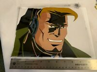 GI Joe Extreme Original Hand Painted 1990's Cartoon Animation Cel. Lt. Stone