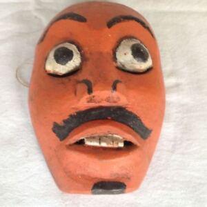 alte Topeng Wayang Bali Java Theatermaske Holz Mask 3