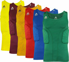 Adidas Adult Techfit Padded Compression Shirt, Color Options