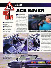 1994 AC Ace Original Car Review Print Article J372