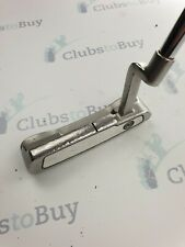 Odyssey White Ice No 1 Blade Putter Mens 34 Inch Right Hand Steel Headcover
