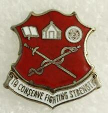 US Military Insignia Unit Crest Pin Academy of Health Sciences Fort Sam Houston