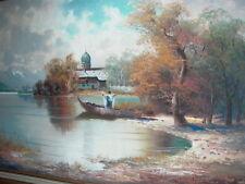 Helmut Stadelhofer Fine Oil Painting Signed - Listed German Artist