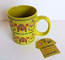 Dr. Seuss The Grinch Ugly Christmas Sweater Coffee Mug ~ 12 oz.~ New with tag
