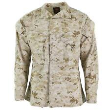 Original US army troops jacket BDU digital desert camo shirts USA military issue