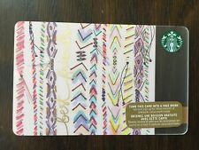 """Canada Series Starbucks """"BEST FRIENDS 2015"""" Gift Card - New No Value"""