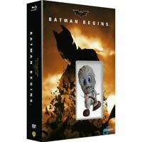 "BATMAN BEGINS - EDITION LIMITEE  ""MINI COSBABY""  BLU-RAY + DVD + DIGITAL - NEUF"