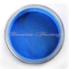 Decorazioni blu acrilico per unghie