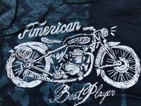 ★ Biker Motorrad - Topolino ★ tolles Sommer T-Shirt ★ Zwillinge ★ Gr. 128 ★