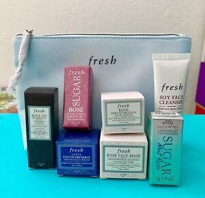 Fresh Skincare Gift Set Face Cleanser Mask Cream Lip Treatment Face Treatment