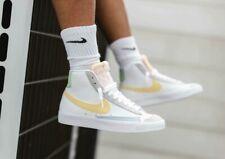 Nike Blazer Mid '77 White Lemon Wash DC0959-100 Men's Shoes Size 11, 12 NEW