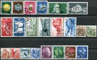 SUISSE N° 449/70 Oblitérés ANNÉE 1948 COMPLÈTE (Les n° 453A/B ne sont pas inclus