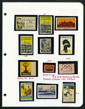 France Sports Stamps Lot of 45 1871-1950