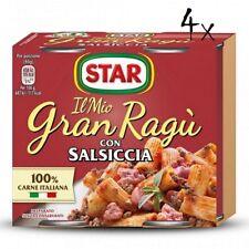 8x  Il mio Gran ragu Star salsiccia tomatensauce 180g sauce mit Würst