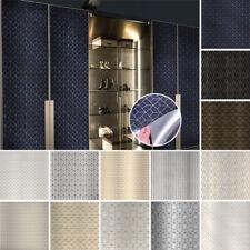 40X250cm Gloss Metallic Wallpaper Self-Adhesive Wall Paper Furniture Stickers AU