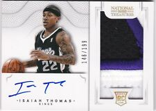 Isaiah Thomas 2012-13 National Treasures Rookie Patch Auto celtics RC sp /199