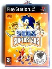 Sega Superstars PS2 PAL/SPA Nuevo New Precintado Retro Playstation Videojuego