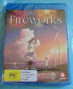 FIREWORKS BLU-RAY NEW SEALED Anime