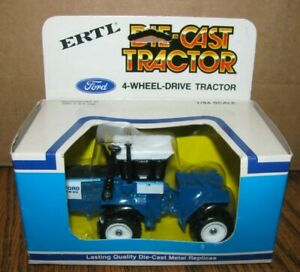 FORD FW-60 Four 4 Wheel Drive Tractor 1:64 Ertl Toy Die Cast Articulated 1980's