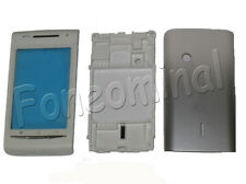 Fascia Housing Back Battery Cover For S.E Xperia X8 X8i E15i Grey UK