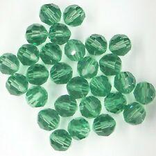 """**25 perles toupies 4 mm  SWAROVSKI  MORION   **   5328 /"""""""