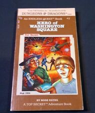Dungeons & Dragons An Endless Quest Book #7 Hero of Washington Square