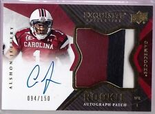 2012 UD Exquisite Alshon Jeffery Auto 3-Color Jersey Rc Serial # to 150