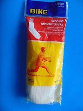 Woolen Tennis Socks 70's-80s Vintage Sealed OLD Stock!  Med 8-10 or Large 10-13