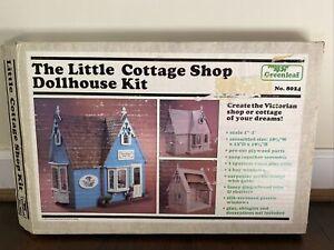 The Little Cottage Shop Dollhouse Kit By Greenleaf No. 8024 1985
