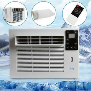 1100W Window Refrigerated Air Conditioner Cooler Dehumidification Portable