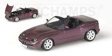 Bmw Z1 1991 Purple 1:43 Model 400020101 MINICHAMPS