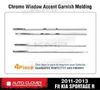 Window Sill Trim Chrome Cover Garnish Molding A858 For KIA 2011-2015 Sportage R