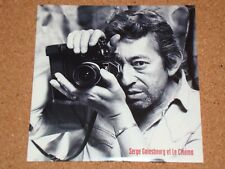 SERGE GAINSBOURG - Et Le Cinema - NEW CD album in card sleeve