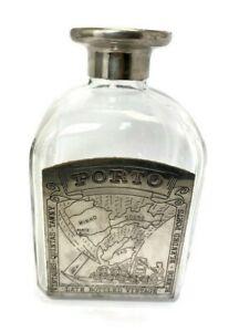 Empty Wine Glass Bottle Rare Vintage Minho PORTO Drink Collectibles Portugal Old