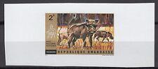 Rwanda Sc448 Wildlife, Animal, Wart Hogs, Deluxe Proof