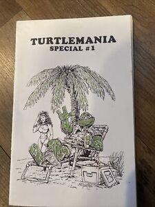 Turtlemania SPECIAL #1 First Print 1986  VF Signed Robert Wilson Teenage mutant