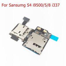SIM Memory card reader Slot Port flex Cable For Samsung Galaxy S4 i9500/5/8 i337