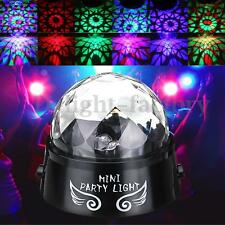 Mini RGB Stage Laser Lighting Voice Controll LED Effect Light Disco DJ Party AU