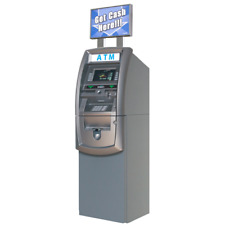 New Genmega G2500 Atm Machine - No Phone or internet Lines Needed!