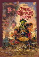 "MUPPET TREASURE ISLAND Movie Poster 27x40"" Theater Size - Licensed 